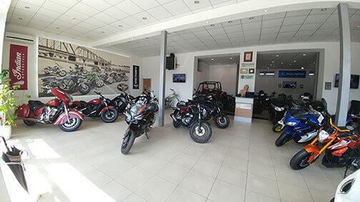 Салон молоциклы