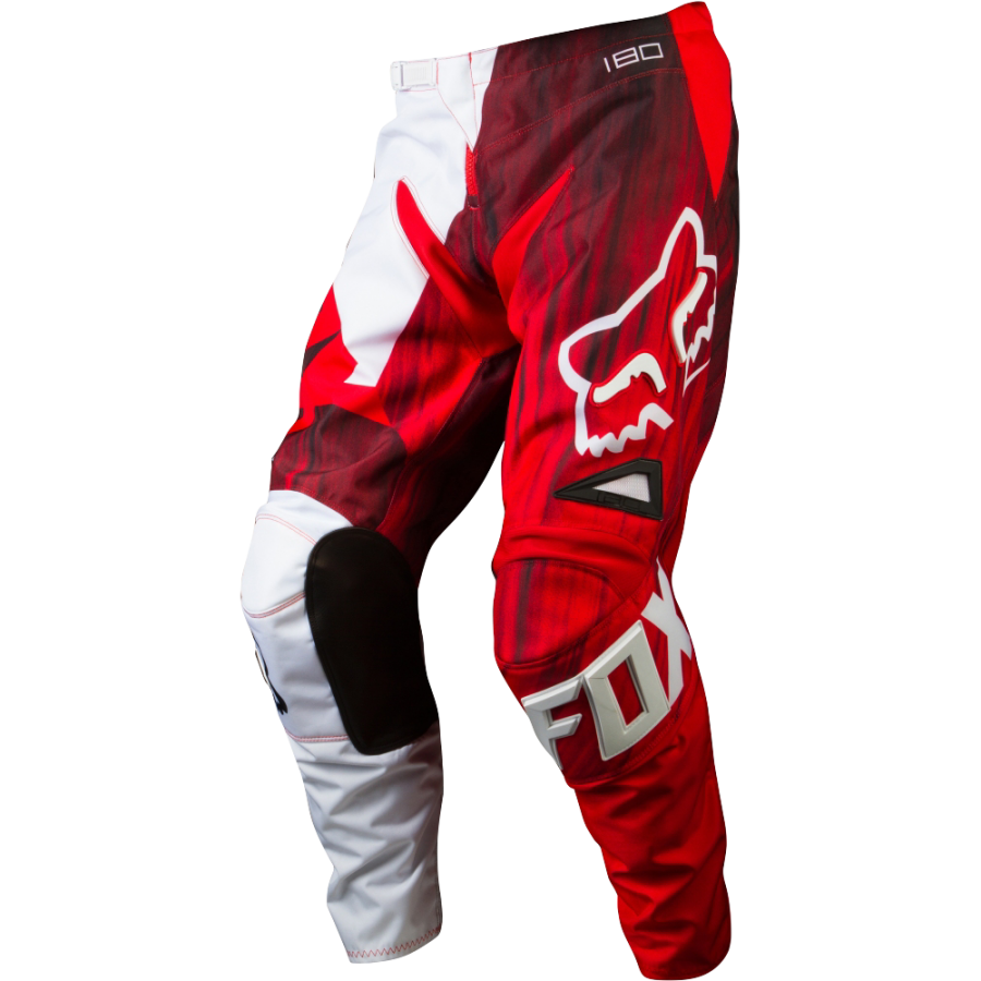 Штаны Fox 180 pant red w32  Артмото - купить квадроцикл в украине и харькове, мотоцикл, снегоход, скутер, мопед, электромобиль