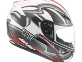 МОТОШЛЕМ AGV K-3 CHICANE WHITE / RED