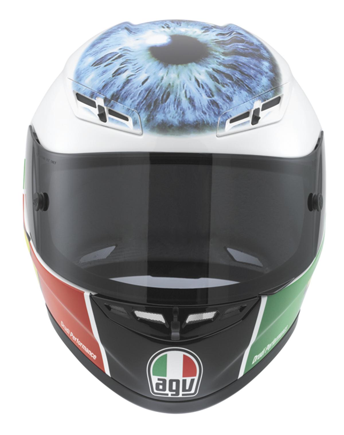 Мотошлем AGV GP-TECH Limited Edition Valentino's Eye  Артмото - купить квадроцикл в украине и харькове, мотоцикл, снегоход, скутер, мопед, электромобиль