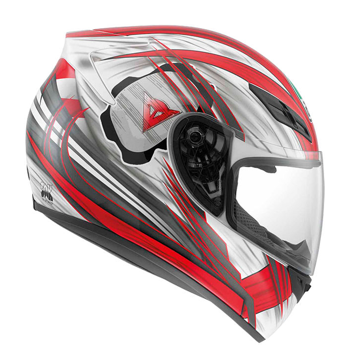 Мотошлем AGV K-4 EVO HANG ON WHITE / RED  Артмото - купить квадроцикл в украине и харькове, мотоцикл, снегоход, скутер, мопед, электромобиль