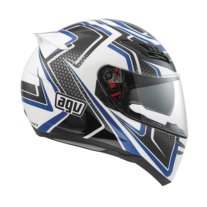 Мотошлем AGV HORIZON RACER WHITE / CARBON / BLUE  Артмото - купить квадроцикл в украине и харькове, мотоцикл, снегоход, скутер, мопед, электромобиль