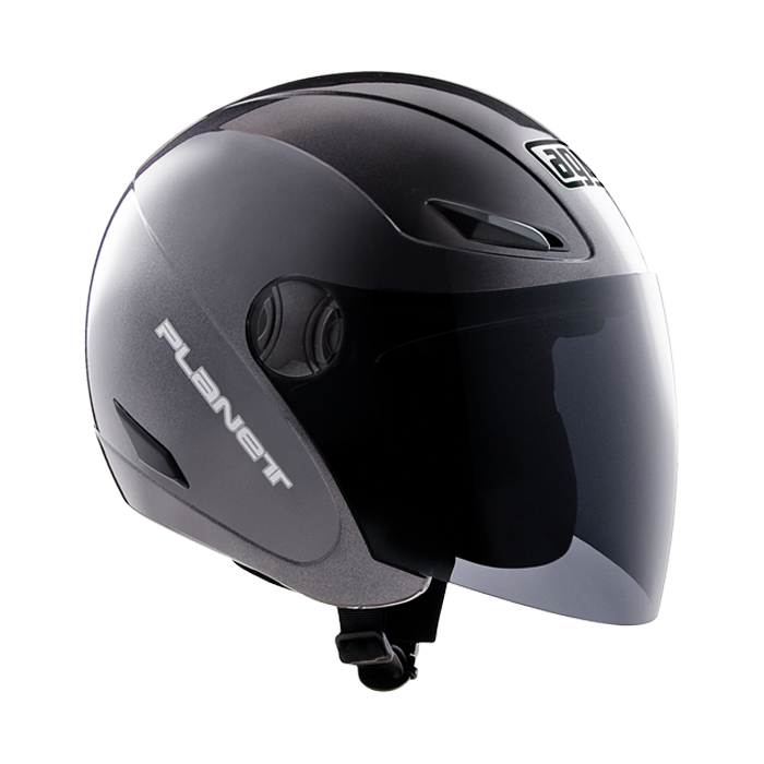 МОТОШЛЕМ AGV PLANET BLACK METAL  Артмото - купить квадроцикл в украине и харькове, мотоцикл, снегоход, скутер, мопед, электромобиль