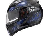 Мотошлем AGV STEALTH CRUEL BLACK/BLUE