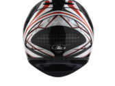 Мотошлем AGV K-4 SLIVER BLACK/RED