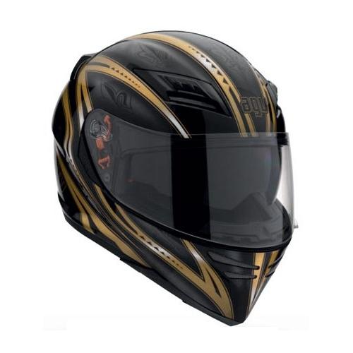 Мотошлем AGV STEALTH FLORENCE BLACK/GOLD  Артмото - купить квадроцикл в украине и харькове, мотоцикл, снегоход, скутер, мопед, электромобиль