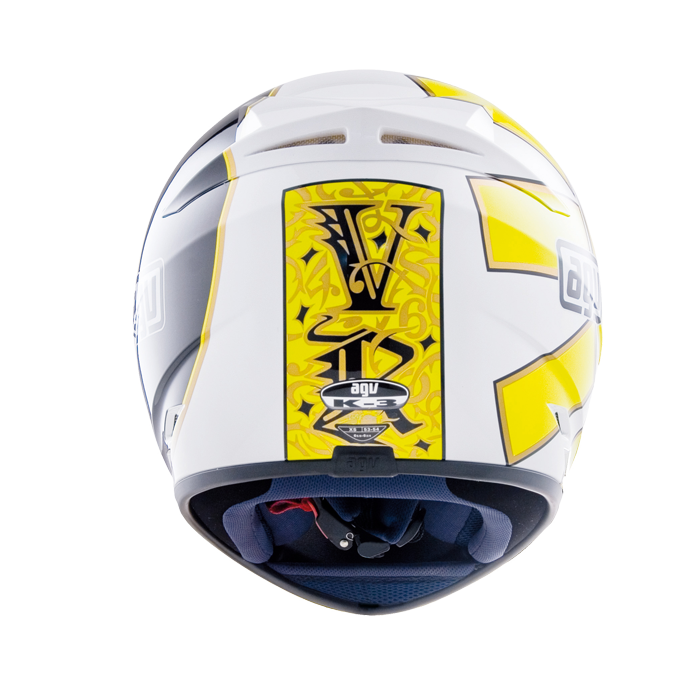 Мотошлем AGV K-3 GOTHIC 46 WHITE  Артмото - купить квадроцикл в украине и харькове, мотоцикл, снегоход, скутер, мопед, электромобиль