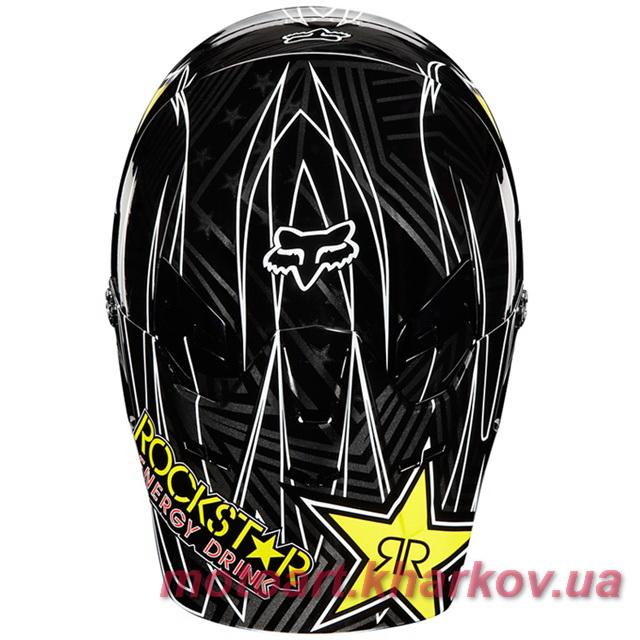 МОТОШЛЕМ FOX V1 ROCKSTAR HELMET  Артмото - купить квадроцикл в украине и харькове, мотоцикл, снегоход, скутер, мопед, электромобиль