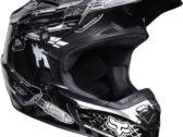 Мотошлем Fox V2 Motor City Helmet 2011 (шлем для мотокросса)