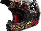 Мотошлем 2011 Fox V3 Ryan Dungey Replica Rockstar (шлем для мотокросса)