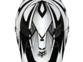 МОТОШЛЕМ 2012 FOX V1 RACE HELMET BLACK