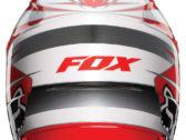 МОТОШЛЕМ 2012 FOX V1 RACE HELMET RED