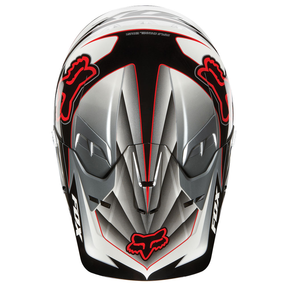 МОТОШЛЕМ 2012 FOX V2 RACE  Артмото - купить квадроцикл в украине и харькове, мотоцикл, снегоход, скутер, мопед, электромобиль