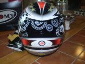 Мотошлем Suomy Extreme Max Biaggi Autographed (Very Rare)