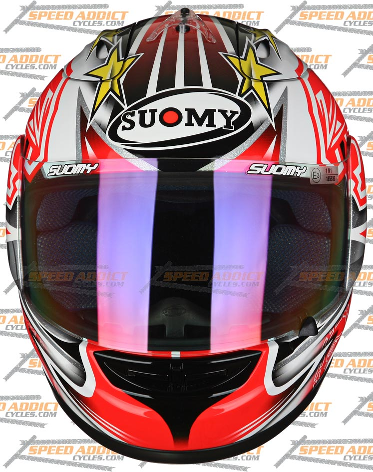 Мотошлем SUOMY Spec 1R Extreme Biaggi  Артмото - купить квадроцикл в украине и харькове, мотоцикл, снегоход, скутер, мопед, электромобиль