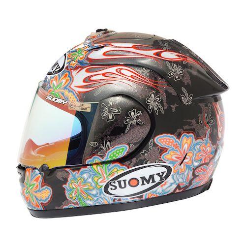 Мотошлем Suomy Extreme Spec Flowers  Артмото - купить квадроцикл в украине и харькове, мотоцикл, снегоход, скутер, мопед, электромобиль