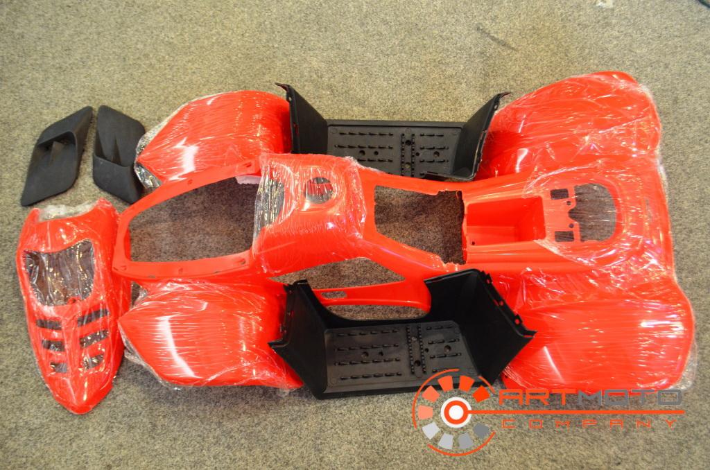 Пластик основной АТВ 001 Phoenix  Артмото - купить квадроцикл в украине и харькове, мотоцикл, снегоход, скутер, мопед, электромобиль