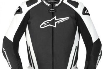 Мотокуртка Alpinestars GP-PRO white/black