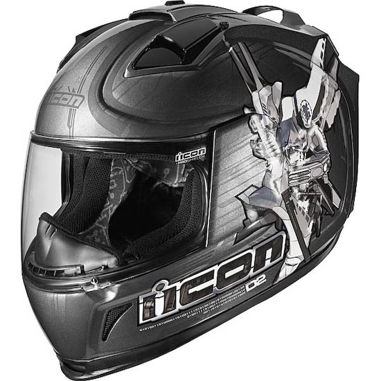 Мотошлем ICON Domain 2 Sha Do grey  Артмото - купить квадроцикл в украине и харькове, мотоцикл, снегоход, скутер, мопед, электромобиль