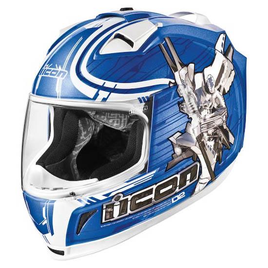 Мотошлем ICON Domain 2 Sha Do blue  Артмото - купить квадроцикл в украине и харькове, мотоцикл, снегоход, скутер, мопед, электромобиль