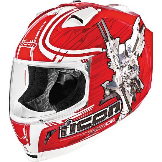 Мотошлем ICON Domain 2 Sha Do red  Артмото - купить квадроцикл в украине и харькове, мотоцикл, снегоход, скутер, мопед, электромобиль