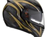 Мотошлем AGV STEALTH FLORENCE BLACK/GOLD