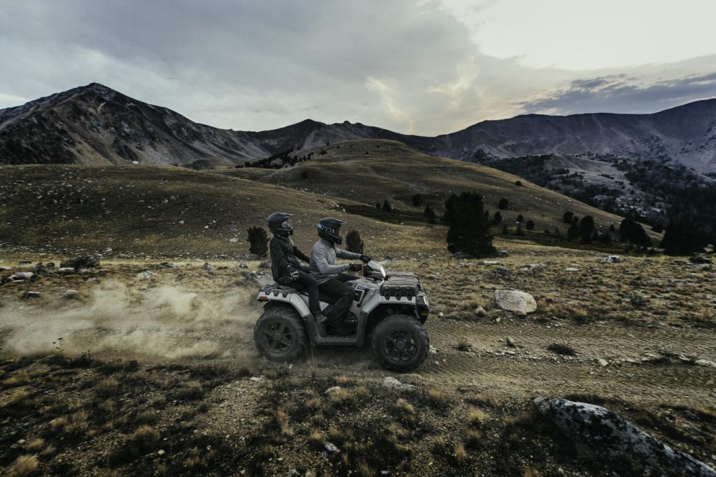 КВАДРОЦИКЛ POLARIS SPORTSMAN TOURING 850SP EPS ― Артмото - купить квадроцикл в украине и харькове, мотоцикл, снегоход, скутер, мопед, электромобиль