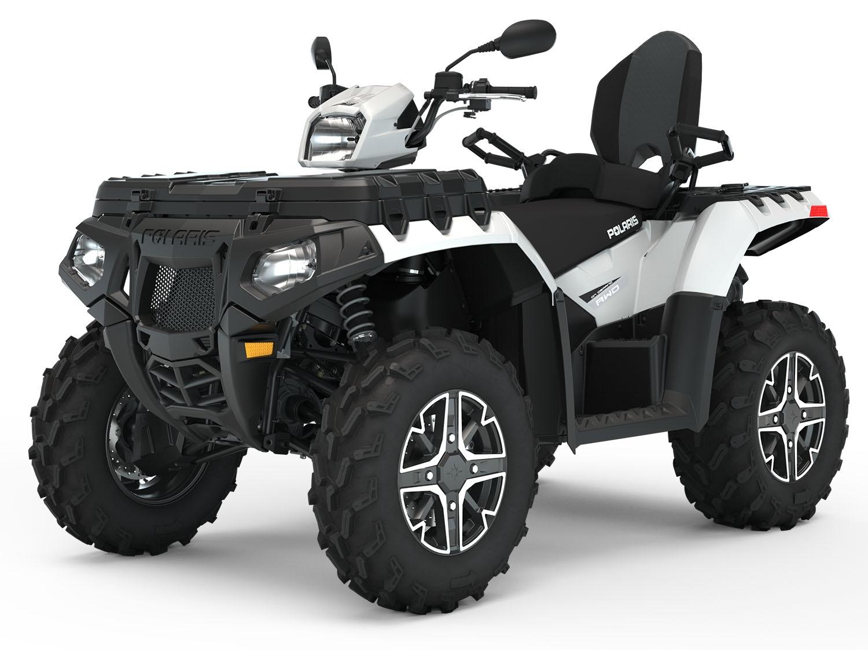 КВАДРОЦИКЛ POLARIS SPORTSMAN TOURING XP 1000 Premium — Pearl White  Артмото - купить квадроцикл в украине и харькове, мотоцикл, снегоход, скутер, мопед, электромобиль