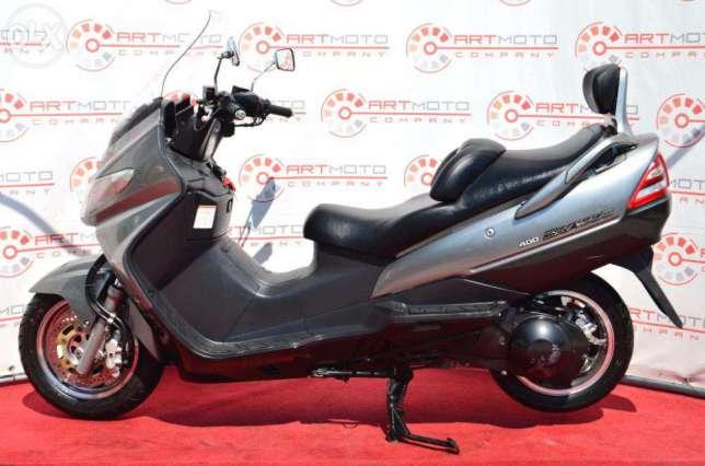 МАКСИ-СКУТЕР SUZUKI SKYWAVE 400 CK42A ― Артмото - купить квадроцикл в украине и харькове, мотоцикл, снегоход, скутер, мопед, электромобиль