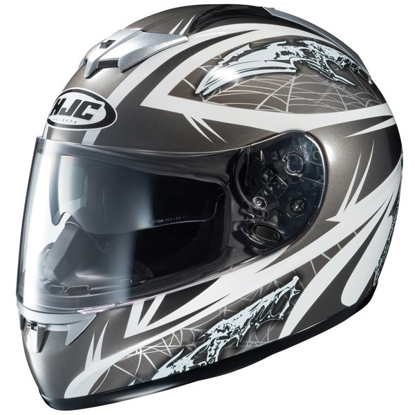 Мотошлем HJC FS-10 Fossil grey  Артмото - купить квадроцикл в украине и харькове, мотоцикл, снегоход, скутер, мопед, электромобиль