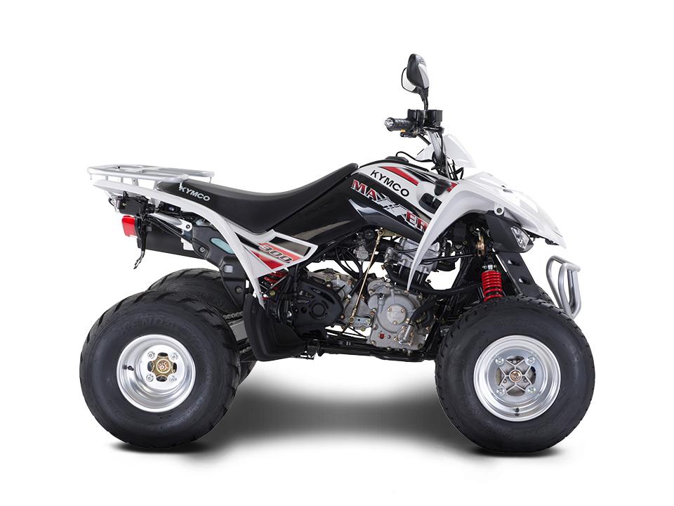 КВАДРОЦИКЛ KYMCO MAXXER 300 ― Артмото - купить квадроцикл в украине и харькове, мотоцикл, снегоход, скутер, мопед, электромобиль