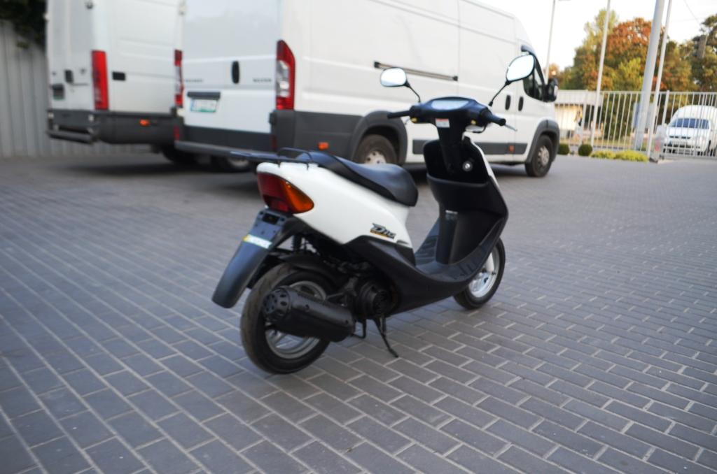 МОПЕД HONDA DIO AF34 БЕЛЫЙ  Артмото - купить квадроцикл в украине и харькове, мотоцикл, снегоход, скутер, мопед, электромобиль