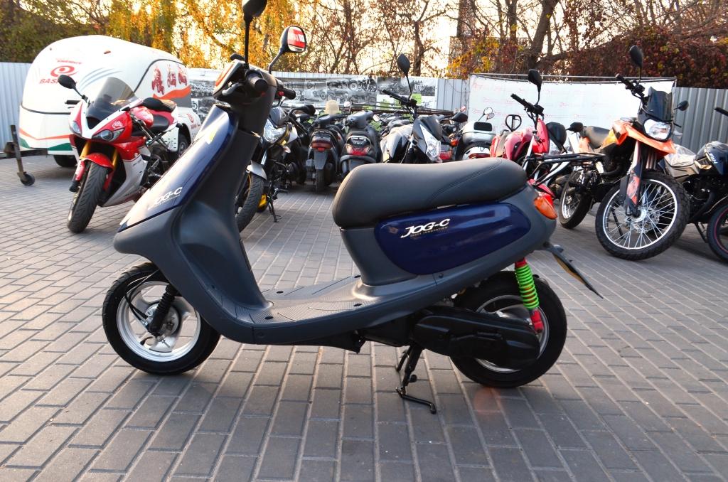 МОПЕД YAMAHA JOG C SA01J SPACE INNOVATION ― Артмото - купить квадроцикл в украине и харькове, мотоцикл, снегоход, скутер, мопед, электромобиль