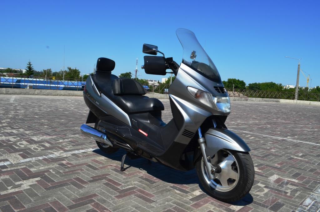 МАКСИ-СКУТЕР SUZUKI SKYWAVE 400 CK42A  Артмото - купить квадроцикл в украине и харькове, мотоцикл, снегоход, скутер, мопед, электромобиль