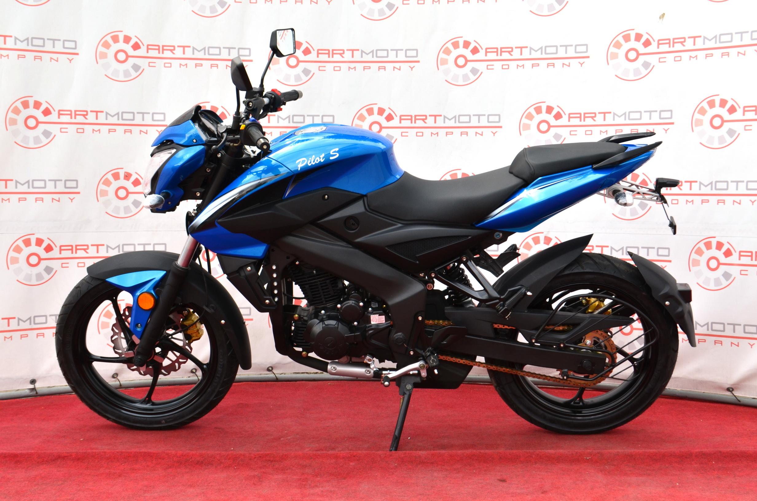 МОТОЦИКЛ BASHAN PILOT S 250 Blue ― Артмото - купить квадроцикл в украине и харькове, мотоцикл, снегоход, скутер, мопед, электромобиль