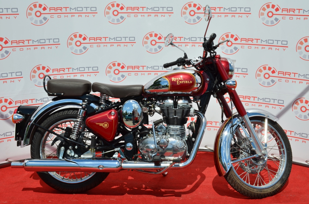 МОТОЦИКЛ ROYAL ENFIELD CLASSIC CHROME ― Артмото - купить квадроцикл в украине и харькове, мотоцикл, снегоход, скутер, мопед, электромобиль