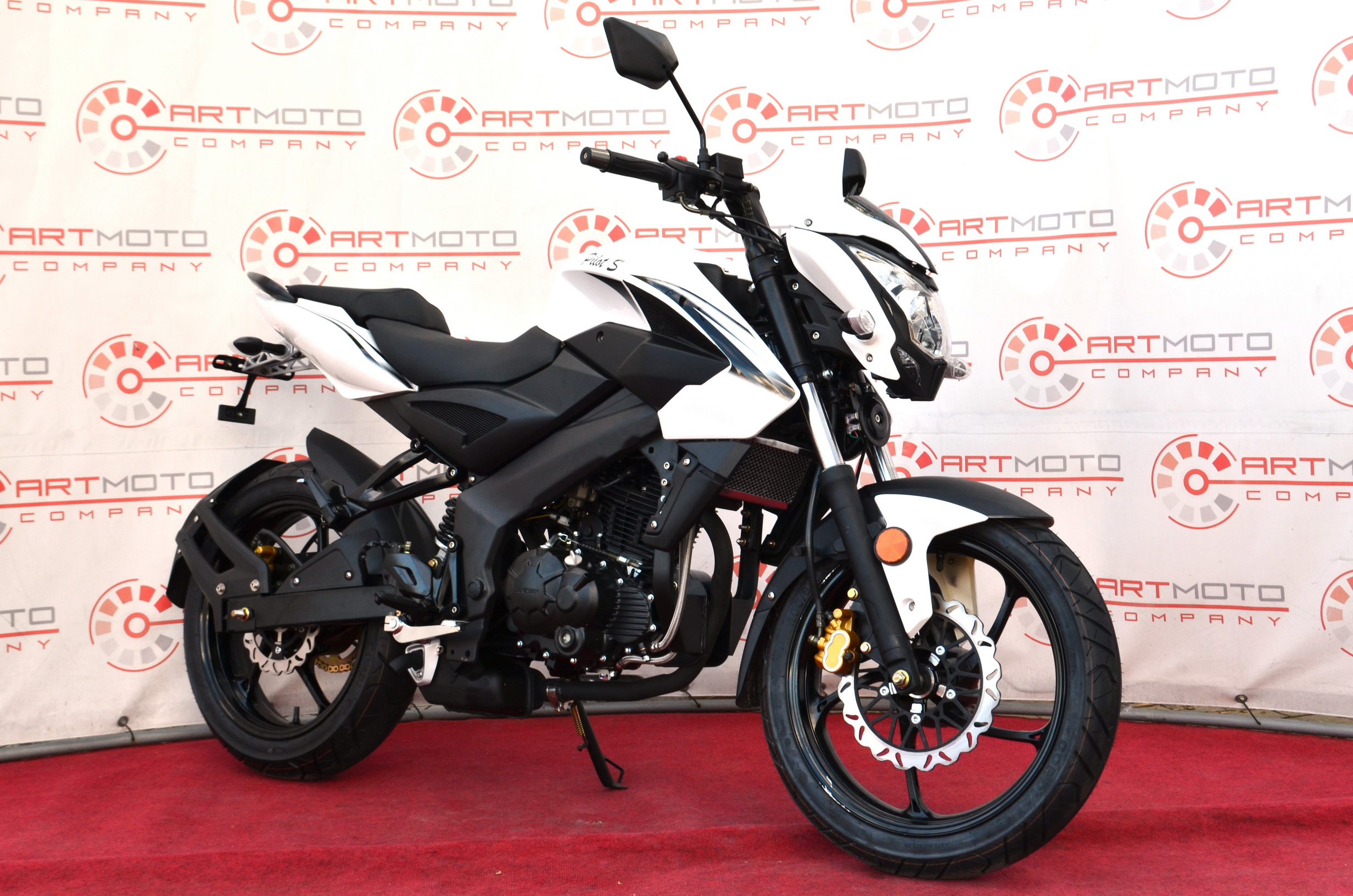 МОТОЦИКЛ BASHAN PILOT S 250 White ― Артмото - купить квадроцикл в украине и харькове, мотоцикл, снегоход, скутер, мопед, электромобиль