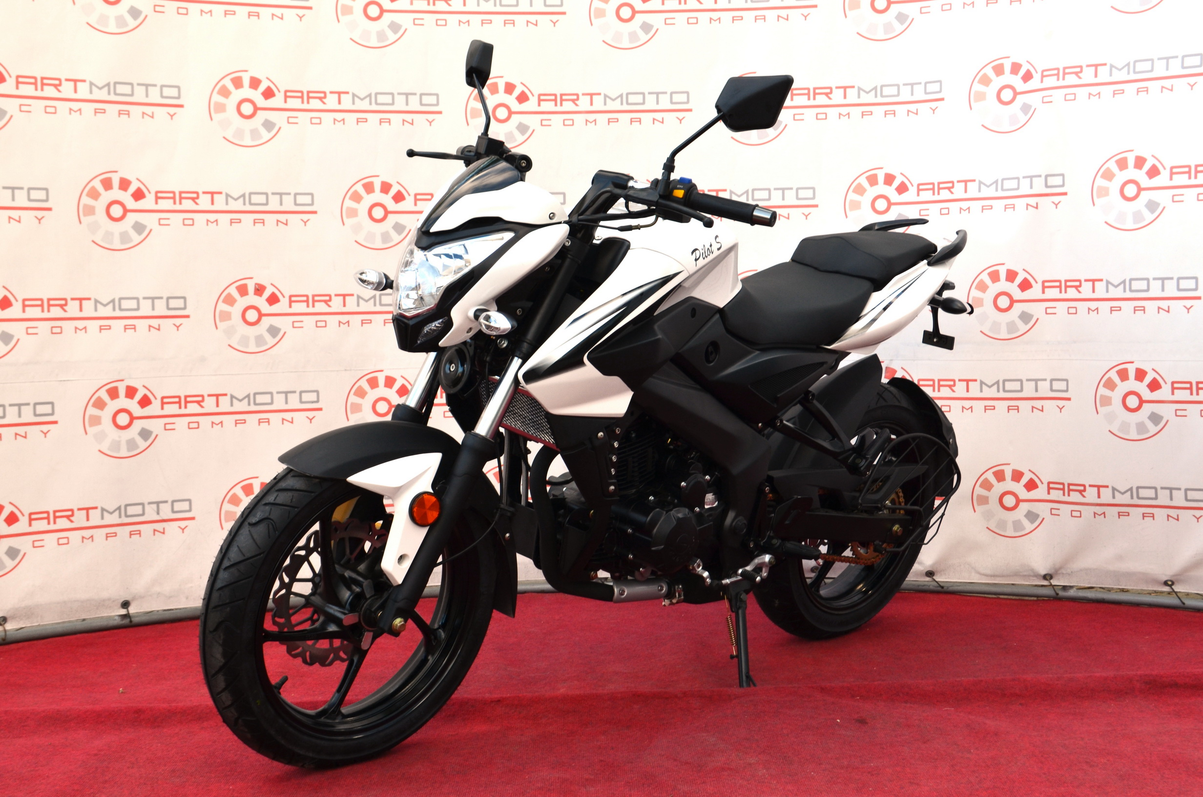 МОТОЦИКЛ BASHAN PILOT S 250 White  Артмото - купить квадроцикл в украине и харькове, мотоцикл, снегоход, скутер, мопед, электромобиль