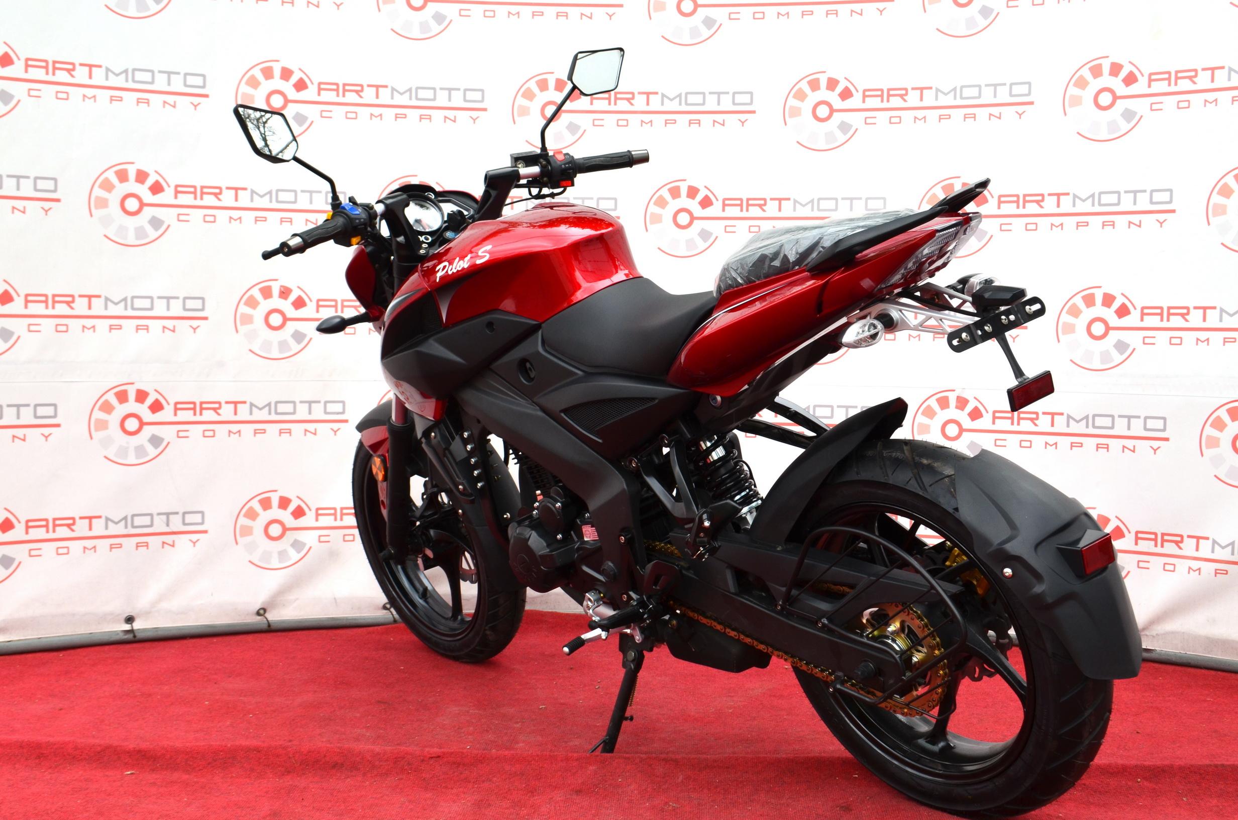 МОТОЦИКЛ BASHAN PILOT S 250 Red ― Артмото - купить квадроцикл в украине и харькове, мотоцикл, снегоход, скутер, мопед, электромобиль