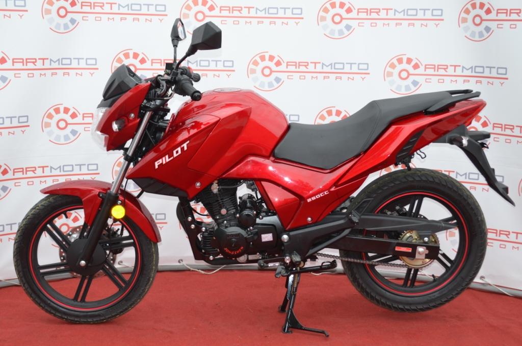 МОТОЦИКЛ BASHAN PILOT 250  Артмото - купить квадроцикл в украине и харькове, мотоцикл, снегоход, скутер, мопед, электромобиль