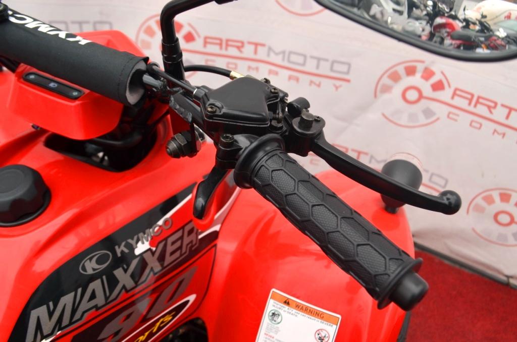 КВАДРОЦИКЛ KYMCO MAXXER 90 ― Артмото - купить квадроцикл в украине и харькове, мотоцикл, снегоход, скутер, мопед, электромобиль