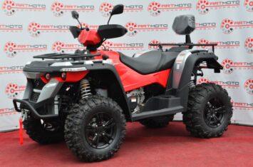 квадроцикл Linhai M550L красный