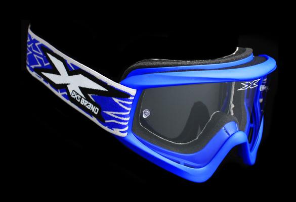 ОЧКИ EKS-BRAND GOX FLAT OUT BLUE  Артмото - купить квадроцикл в украине и харькове, мотоцикл, снегоход, скутер, мопед, электромобиль