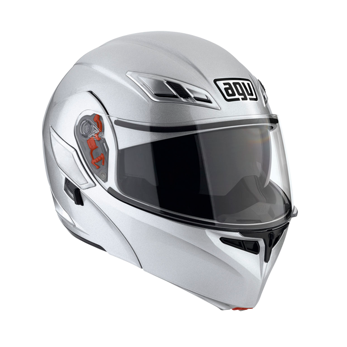 Мотошлем AGV Numo silver Modular  Артмото - купить квадроцикл в украине и харькове, мотоцикл, снегоход, скутер, мопед, электромобиль