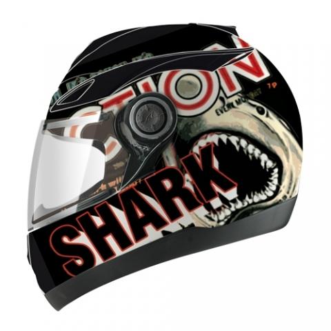МОТОШЛЕМ SHARK S500 SHARKY  Артмото - купить квадроцикл в украине и харькове, мотоцикл, снегоход, скутер, мопед, электромобиль