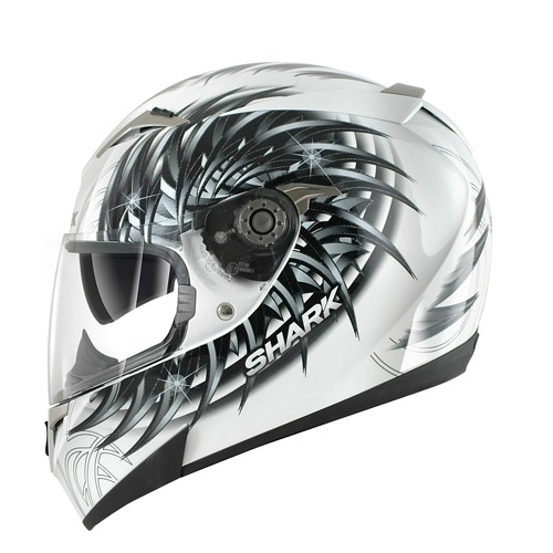 Мотошлем SHARK S900 Inmate white  Артмото - купить квадроцикл в украине и харькове, мотоцикл, снегоход, скутер, мопед, электромобиль