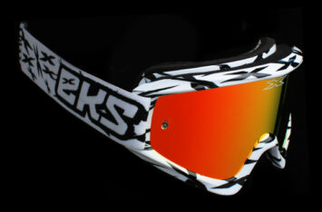 МОТООЧКИ EKS-Brand GOX SCATTER White/Black