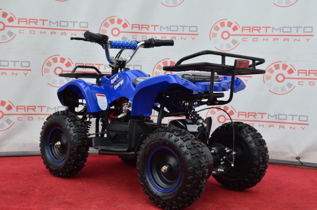ЭЛЕКТРОКВАДРОЦИКЛ PROFI HB-EATV-800N MP3  Артмото - купить квадроцикл в украине и харькове, мотоцикл, снегоход, скутер, мопед, электромобиль