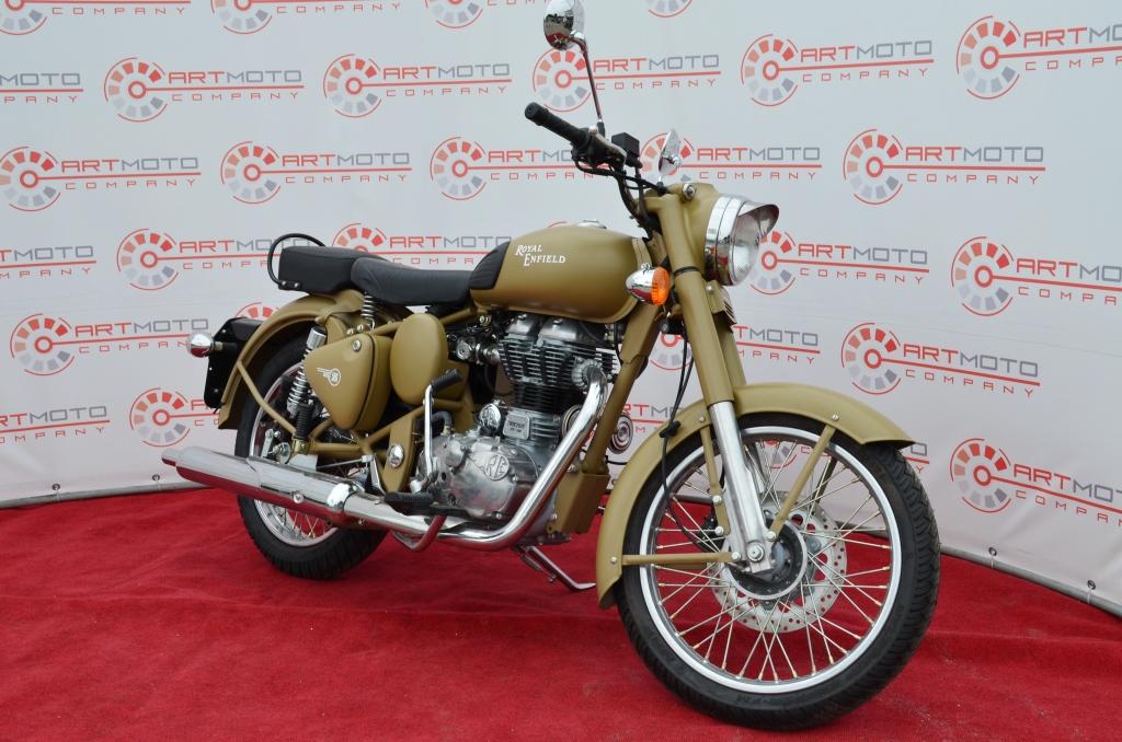 МОТОЦИКЛ ROYAL ENFIELD CLASSIC DESERT STORM  Артмото - купить квадроцикл в украине и харькове, мотоцикл, снегоход, скутер, мопед, электромобиль