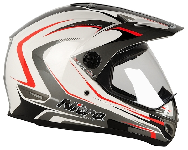 МОТОШЛЕМ NITRO MX630 DEVIL  Артмото - купить квадроцикл в украине и харькове, мотоцикл, снегоход, скутер, мопед, электромобиль